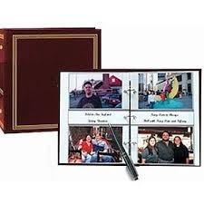 400 pocket photo album 3 ring 2 up slip in pocket burgundy binder album for
