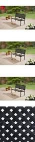 lightweight outdoor bench bench decoration