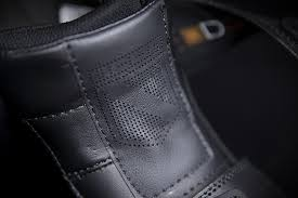 mens black leather biker boots mens icon field armor 2 black leather textile street riding biker