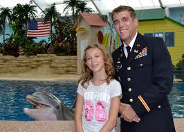 Brookfield Zoo Halloween by Army Dad Surprises Daughter During Brookfield Zoo Visit Video