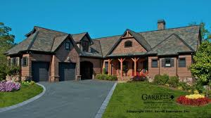 rustic lake empty nester house plans home with basement luxihome