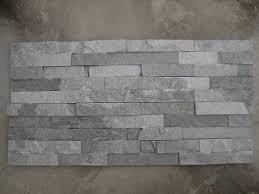 high quality quartzite ledge stone veneers grey stacked idolza