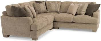 Flexsteel Sectional Sofa Flexsteel Sectional Sofa With Pillow Back