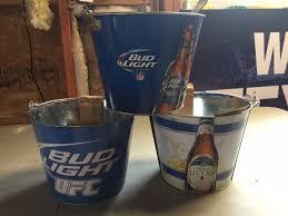 michelob ultra vs bud light budlight ufc nfl michelob ultra 3 bucket beer sign bud light
