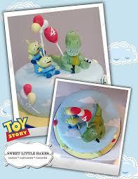 story birthday cake disney rex and green men story birthday cake disney