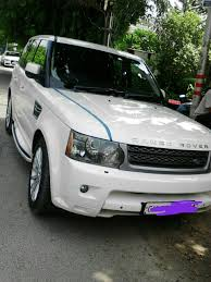 land rover white black rims land rover range rover sport 3 0 tdv6 hse diesel excellent