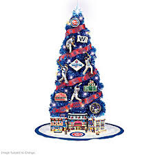 mlb chicago cubs 2016 world series chions tree collection