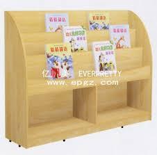 lo scaffale la mobilia di asilo scherza lo scaffale moderno di legno della