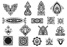 ornament vector pack free vector stock