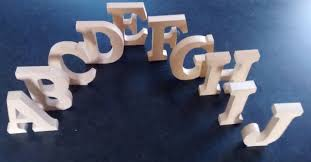 free standing wooden letters home decor name large mdf wooden
