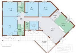 plan maison moderne 5 chambres plan maison s 3 plan maison con plan maison duplex moderne gratuit e