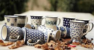 different shapes coffee mug online polish ceramics polish pottery ceramika artystyczna