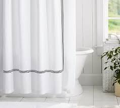 Shower Curtain For Stand Up Shower Shower Curtains Pottery Barn