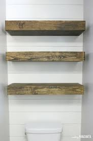 floating picture shelves how to build floating shelves for extra bathroom storage