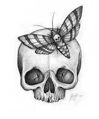 42 best moth skull tattoo design images on pinterest design