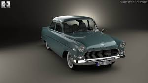 opel kapitan 360 view of opel kapitan 1956 3d model hum3d store