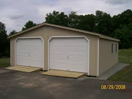 3 car garage door 1 story 2 car garage fox run storage sheds