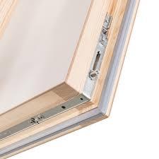 new product the quadro wooden folding loft ladder