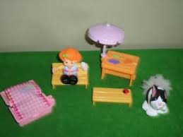 fisher price childrens picnic table fisher price little people picnic table chair bench umbrella easter