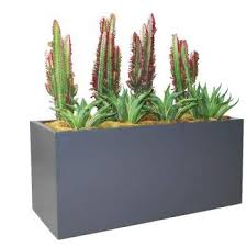 hudson large rectangular planter box plantersetc