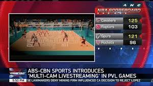 ABS CBN Sports introduces multi cam livestreaming to Premier