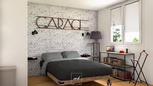 chambre deco charmant chambre deco industrielle et la inspirations avec chambre