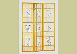 Room Dividers Amazon by Amazon Com Natural Framed Floral Room Divider Screen By Coaster