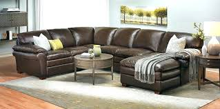 Sectional Sleeper Sofa Recliner Charming Leather Sectional Sofa With Recliner Leather Sectional