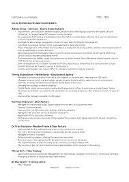 Footlocker Resume 100 Footlocker Resume Examples Resumes Job Resume Sample
