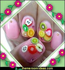 decorating theme bedrooms maries manor nail art fruit nail