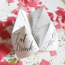 cootie catcher wedding program template printable wedding program menu favor cootie catcher fortune