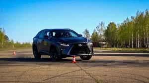 lexus rx 400h top speed lexus rx 2016 moose test youtube