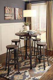 amazon com ashley furniture signature design challiman dining