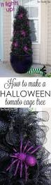 halloween tomato cage tree tomato cage holidays and halloween ideas