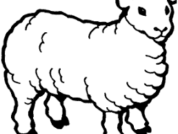 lost sheep coloring free coloring today