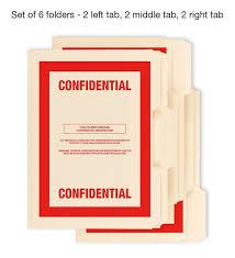 top secret report template 6 pack confidential top secret classified file folders cia fbi nsa