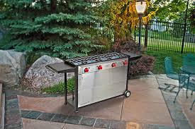 amazon com camp chef somerset 4 burner bbq cart catering