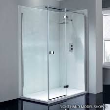 1200mm Shower Door April Prestige2 Frameless 1200mm Hinge Shower Door With In Line