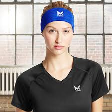 cooling headband mission hydroactive adjustable cooling headband 8401654 hsn