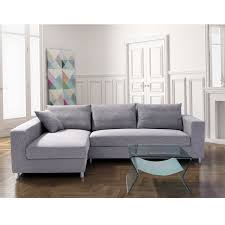 furniture light gray velvet sectional sofa bed with chaise decor