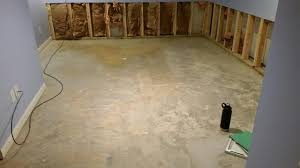 thermaldry flooring finishes basement floor in peoria il