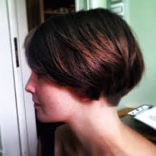 wedge stacked haircut in 80 s dorthy hamil short feathered hairstyles for thick hair short wedge hairstyles