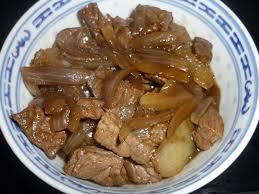cuisine chinoise boeuf aux oignons boeuf aux oignons la cuisine oursante