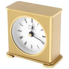 desk clock vintage brass case tiffany desk clock for sale at 1stdibs