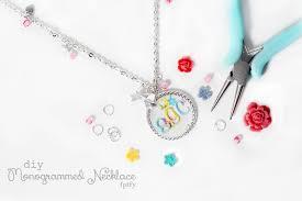 Monogramed Jewelry Pretty Diy Martha Stewart Jewelry 1 Png