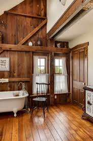 Barn Wood Wall Ideas by No Baseboards Wood Door Casing Wood Floor One White Wall