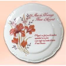 cadeaux anniversaire de mariage assiettes d anniversaire de mariage dans cadeau achetez au