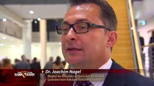 Volksbank Rastatt Baden Baden Bundesbank Vorstand Dr Joachim Nagel Spricht In Baden Baden Beim