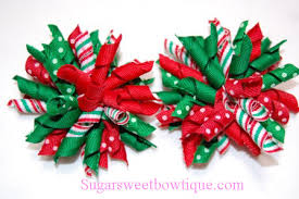 christmas hair bows christmas hair bows happy holidays