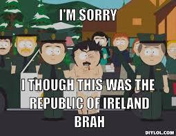 Funny Irish Memes - randy marsh lads memes irish expressions phrases slang words